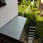 PVC folie pochozí -balkon Husovice