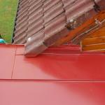 Detail průniků dvou střech