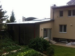 PVC sikaplan, rekonstrukce ploché střechy