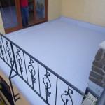 položení PVC sika na terasy