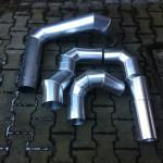 Odtahy spalin-výroba kolen
