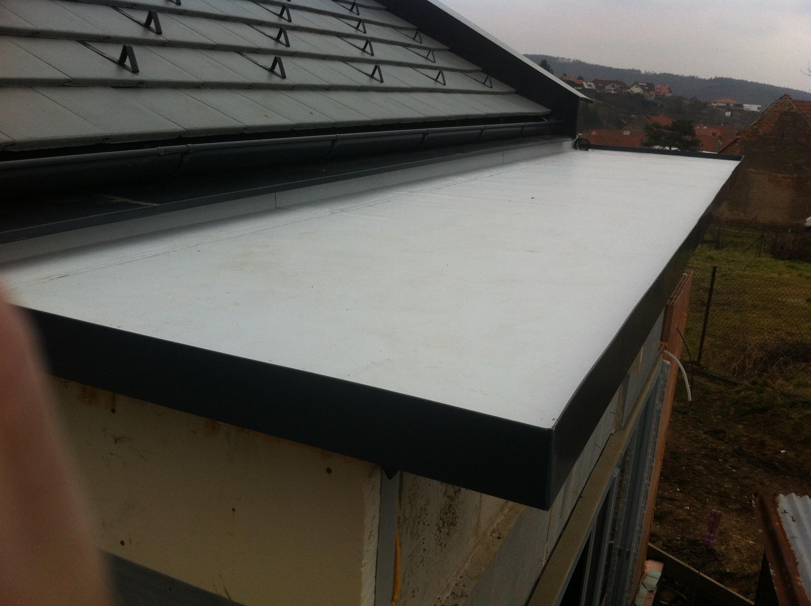 pvc izolace střechy