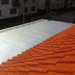 Plechová krytina-oplechování střechy