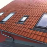 Velux okna se zapuštěnou montáží