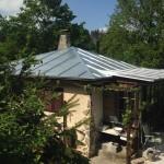 krytina,plech, pozink, falcovaná , střecha