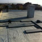 Rekonstrukce zateplení ploché střechy