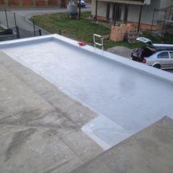 Pvc folie střecha