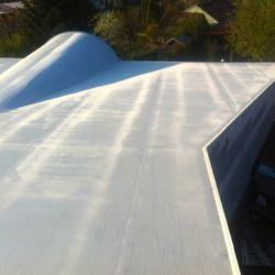 PVC střecha oblouk